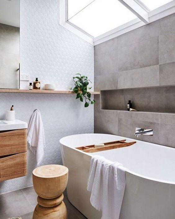 15 идей ванных комнат в скандинавском стиле 11