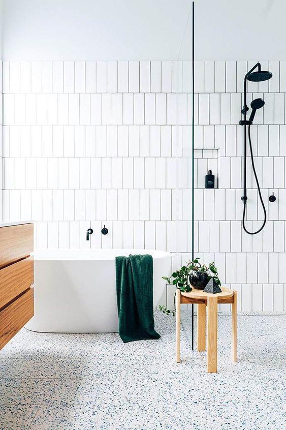 15 идей ванных комнат в скандинавском стиле 12