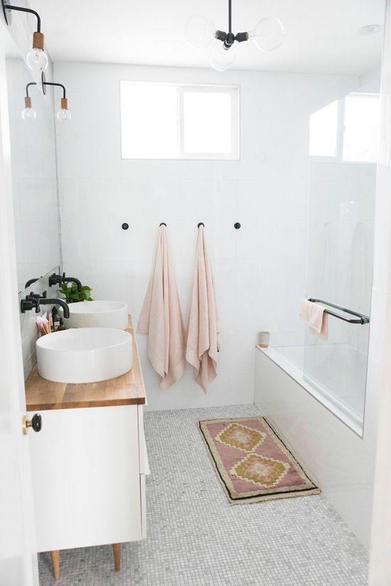 15 идей ванных комнат в скандинавском стиле 15