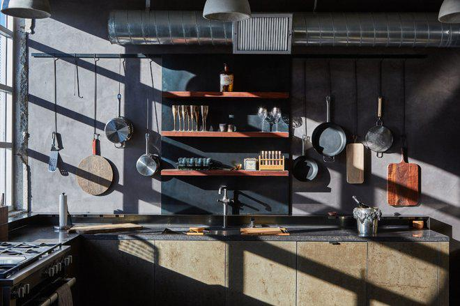 3 кухни лофт в промышленном стиле 2