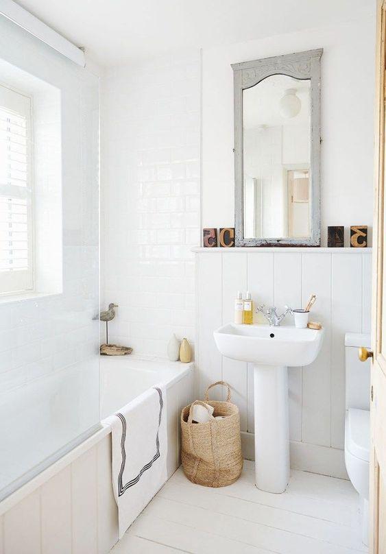 15 идей ванных комнат в скандинавском стиле 4