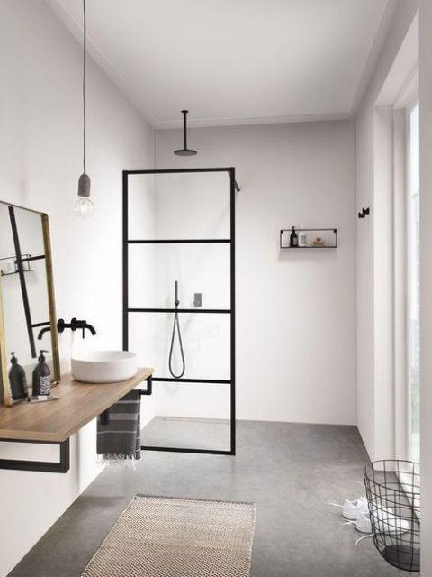 15 идей ванных комнат в скандинавском стиле 5