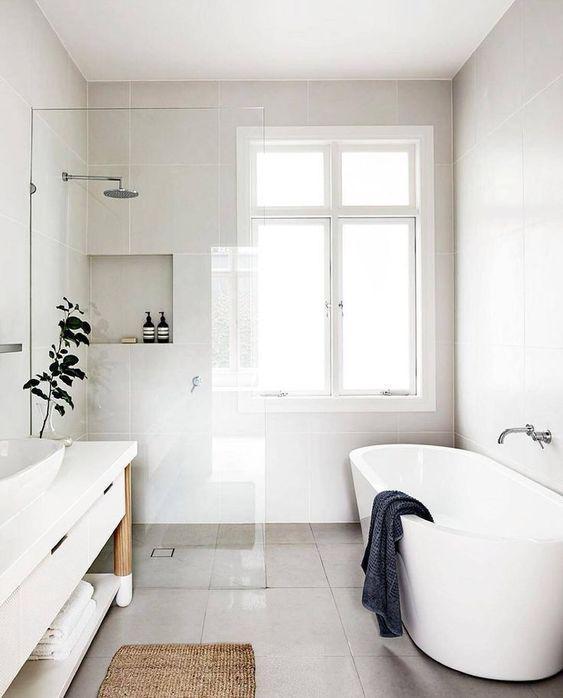 15 идей ванных комнат в скандинавском стиле 6