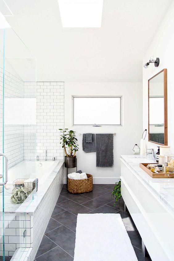 15 идей ванных комнат в скандинавском стиле 7