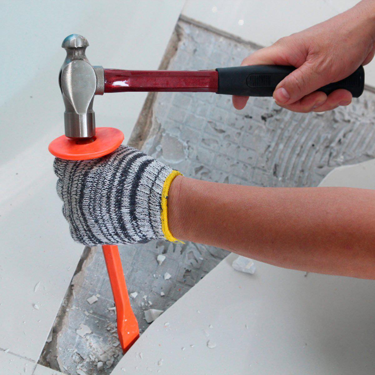 Как удалить плитку с бетонного пола - image3
