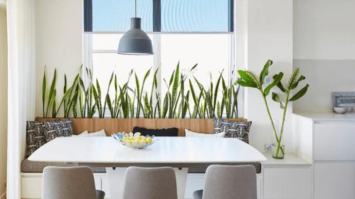 10 блестящих идей укромного уголка для завтрака