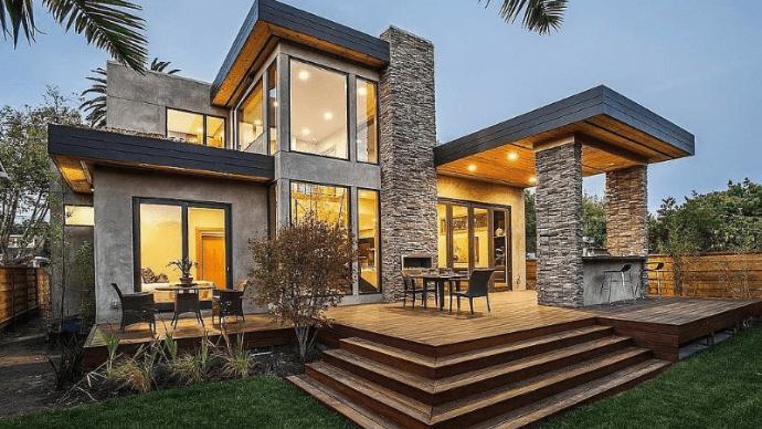 Дом в стиле модерн: нестареющая классика и современность