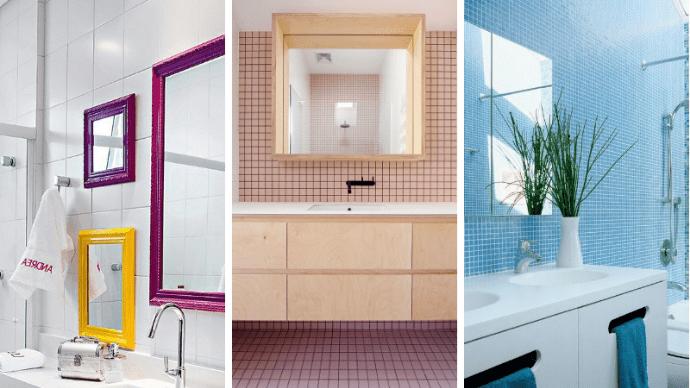 Отделка для ванной комнаты: виды, модели и фотографии
