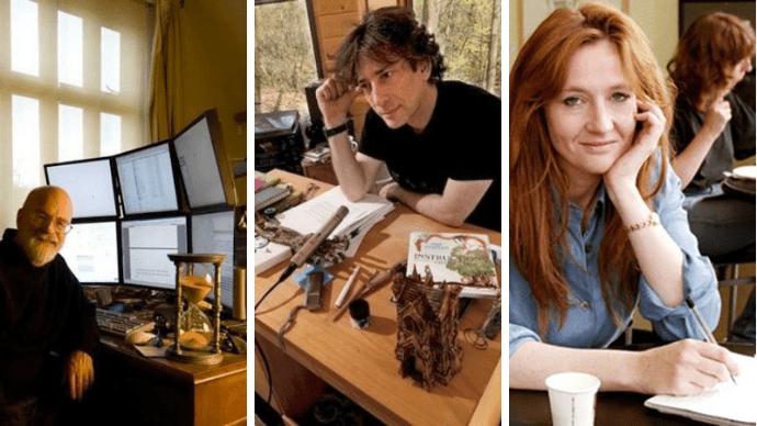 Звезды литературы и их необычные письменные столы