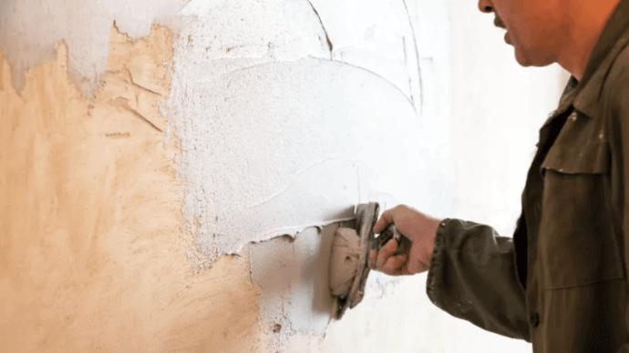 Как устранить большие отверстия в гипсокартоне