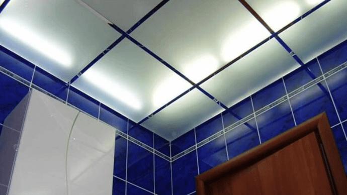 Стеклянные подвесные потолки