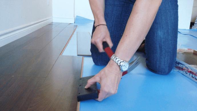 Укладка ламината на пол, как укладывать ламинат самому