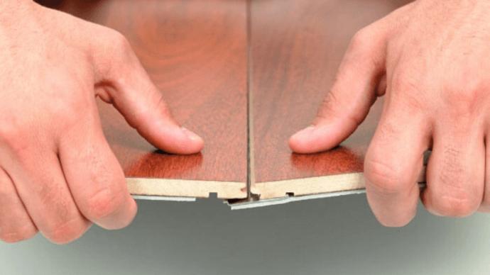 Замки ламината Click и Lock, их соединения