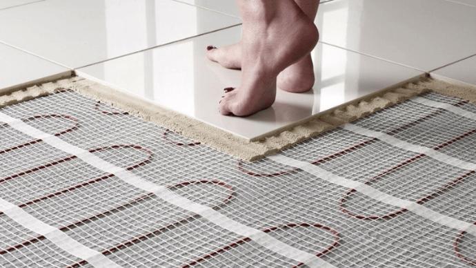 технология электрического теплого пола